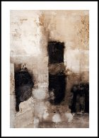 Beige astratto Poster