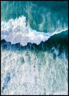 Surfers Wave Poster