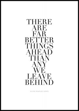 Far Better Things Ahead Poster