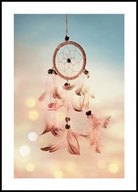 Dreamcatcher feathers Poster