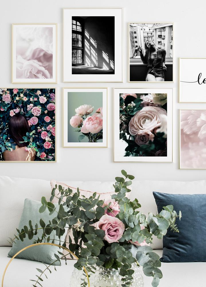 Flower Bouquet Poster